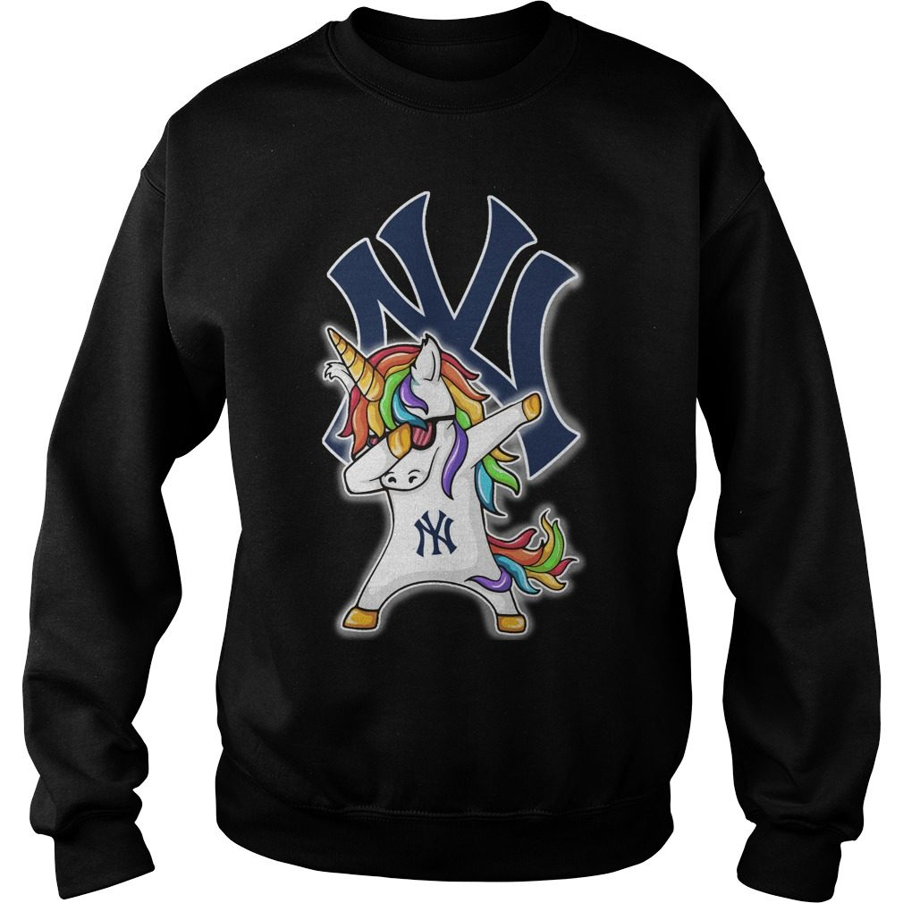 Unicorn Dabbing New York Yankees Sweater
