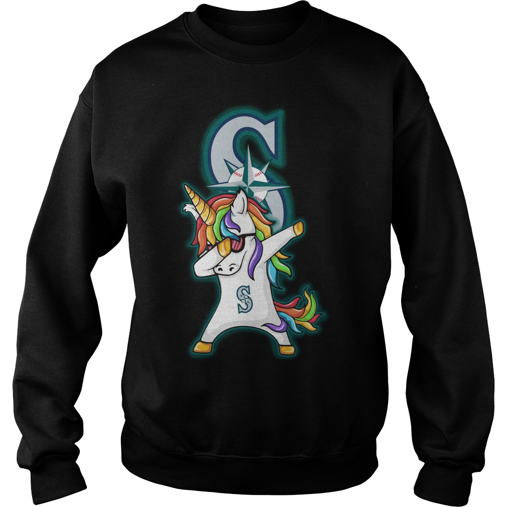 Unicorn Dabbing Seattle Mariners Sweater