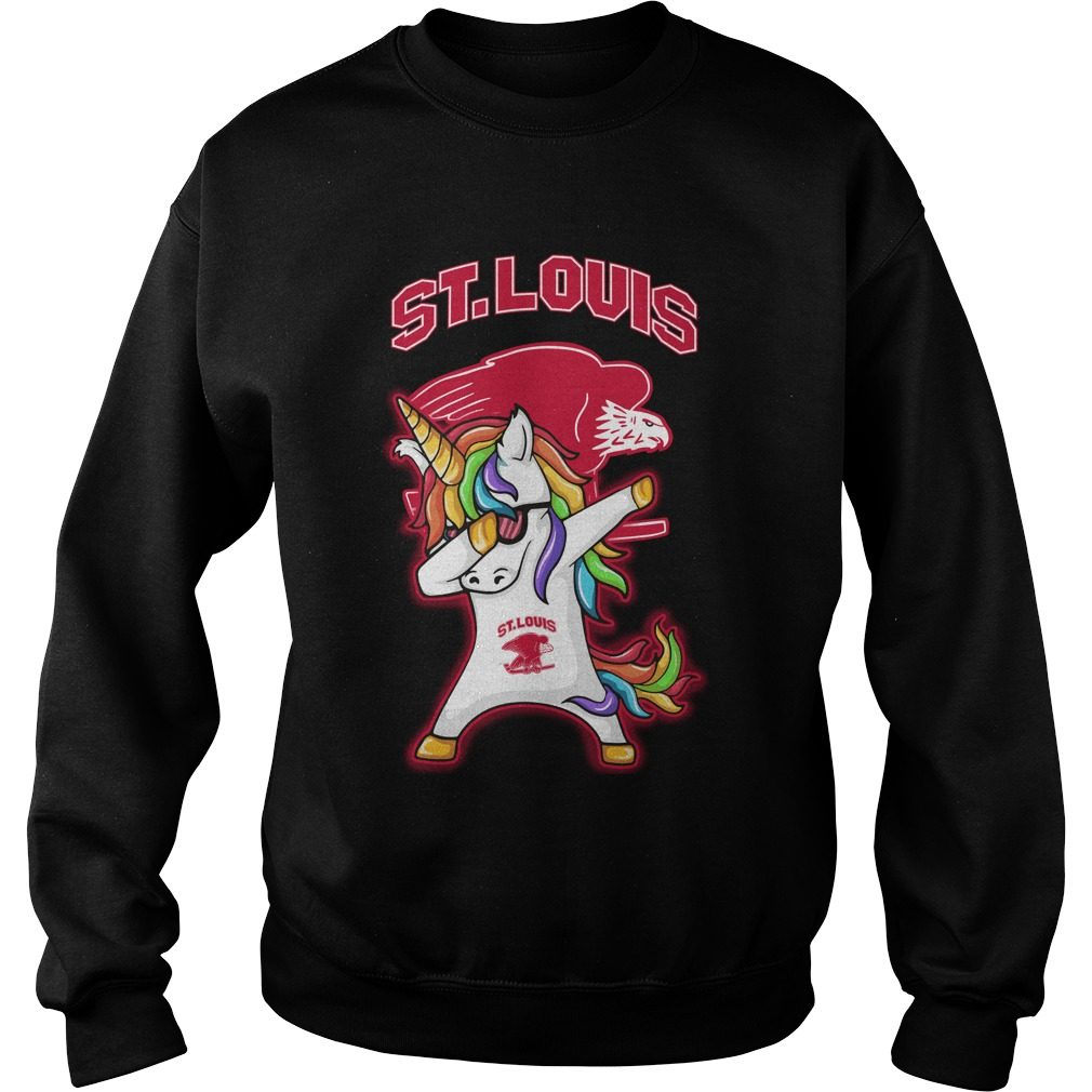 Unicorn Dabbing St Louis Eagles Sweater
