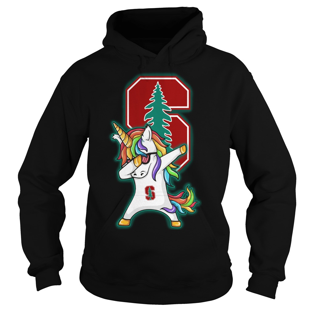 Unicorn Dabbing Stanford Cardinals Hoodie