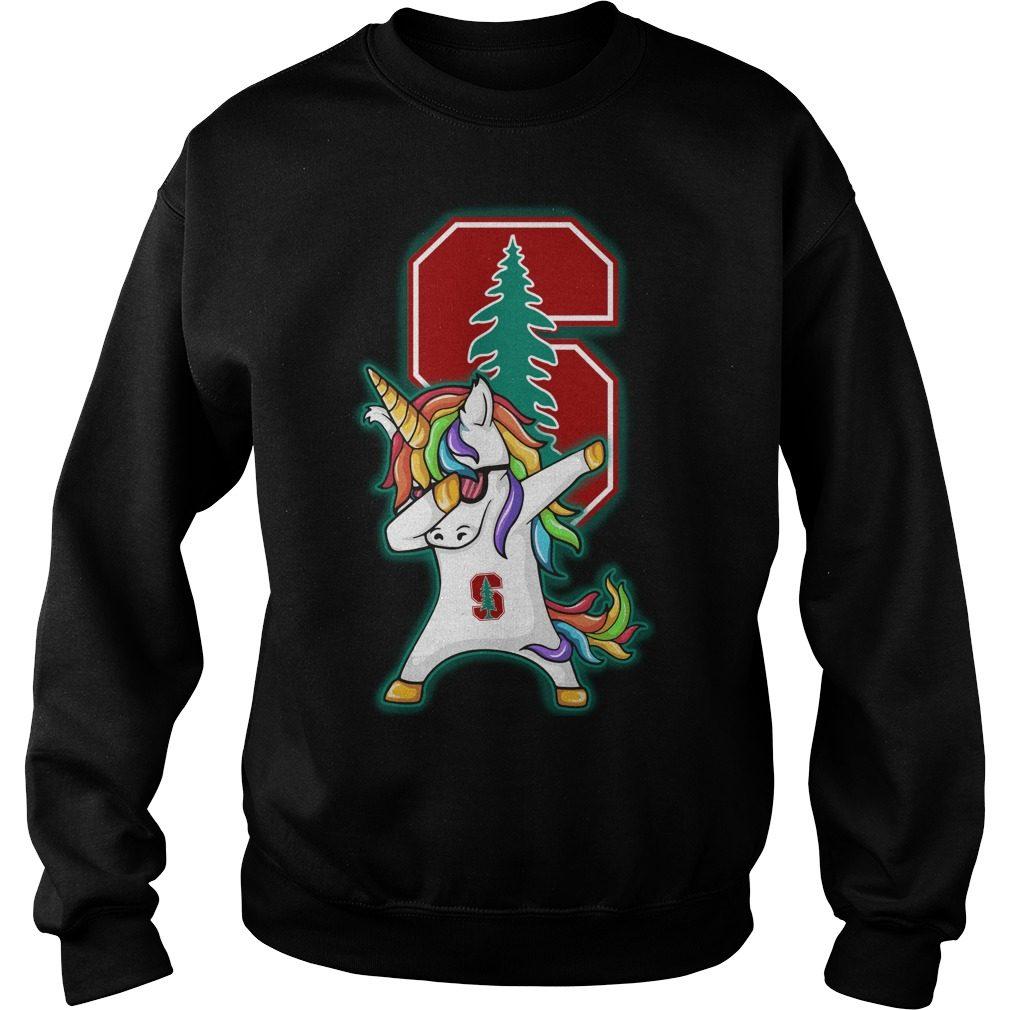 Unicorn Dabbing Stanford Cardinals Sweater