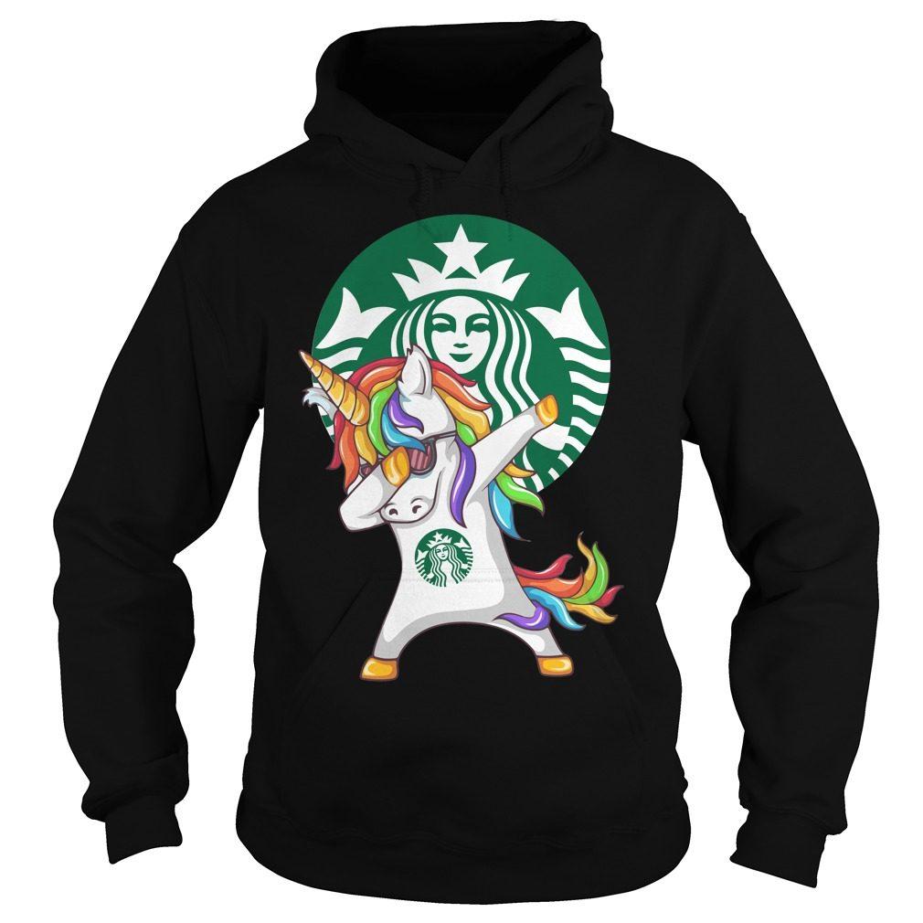 Unicorn Dabbing Starbucks Hoodie