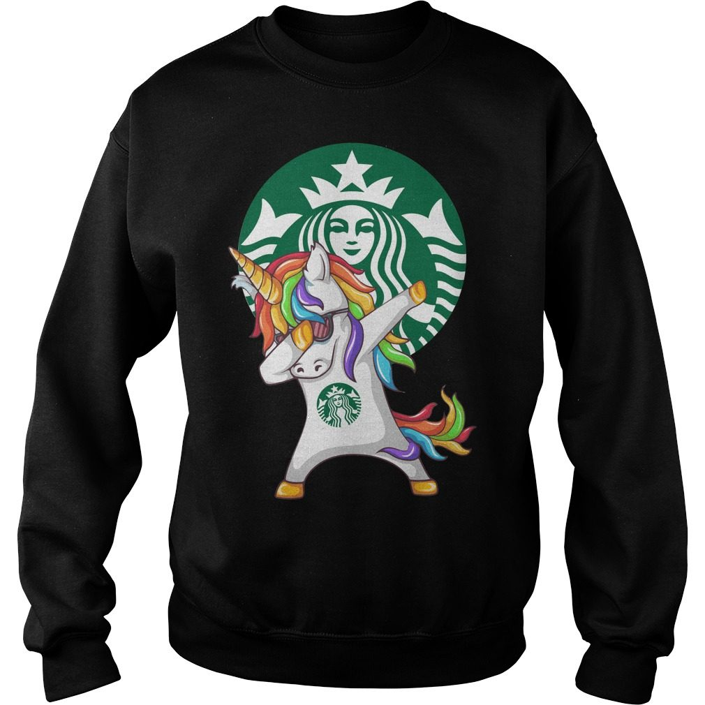 Unicorn Dabbing Starbucks Sweater