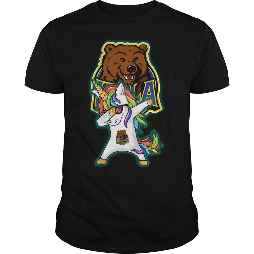 Unicorn Dabbing Ucla Bruins Shirt