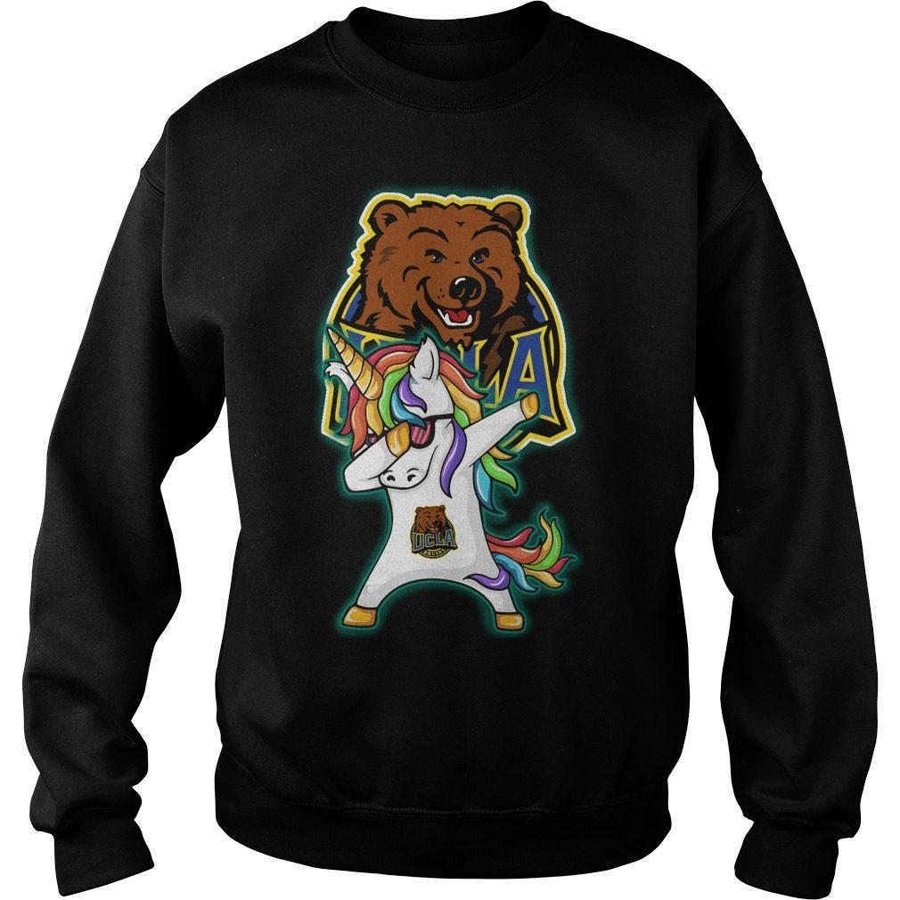 Unicorn Dabbing Ucla Bruins Sweater