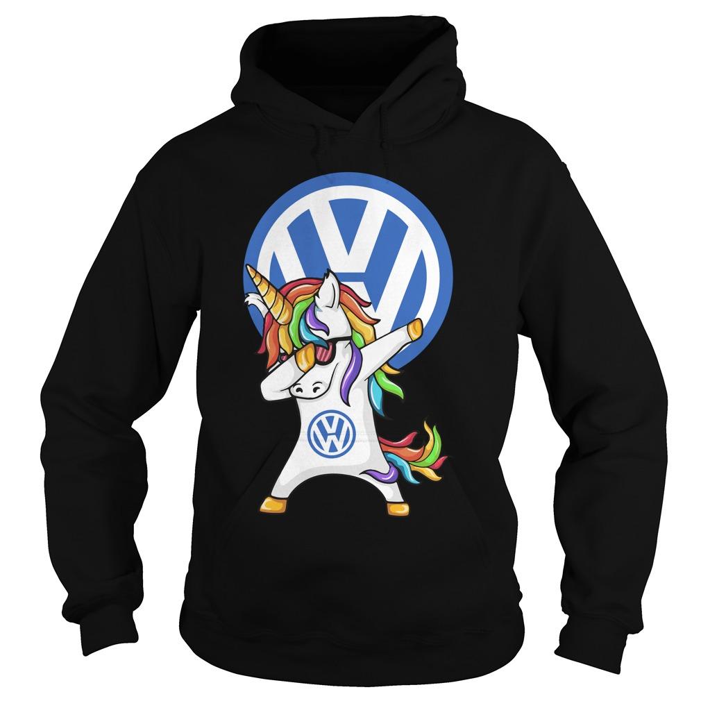 Unicorn Dabbing Volkswagen Hoodie