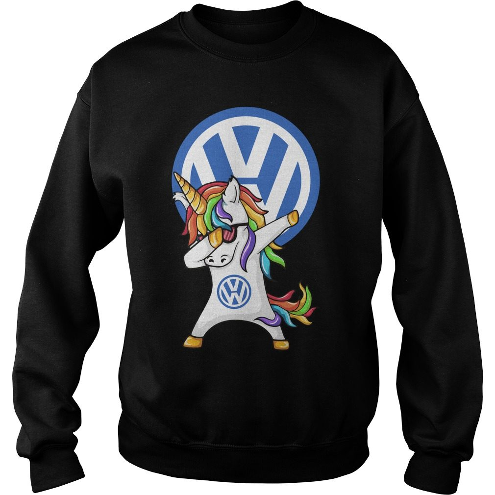 Unicorn Dabbing Volkswagen Sweater