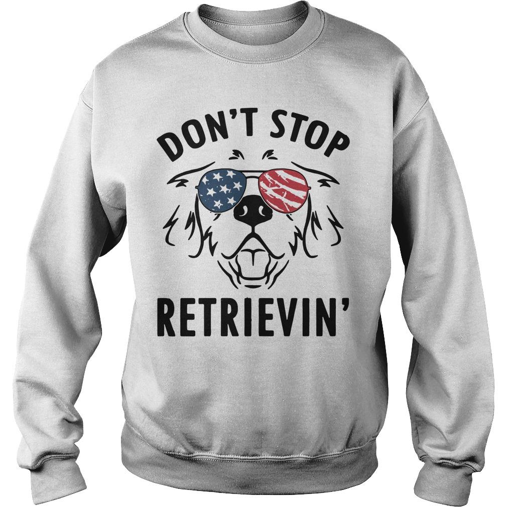 American don't stop retrievin' Sweater