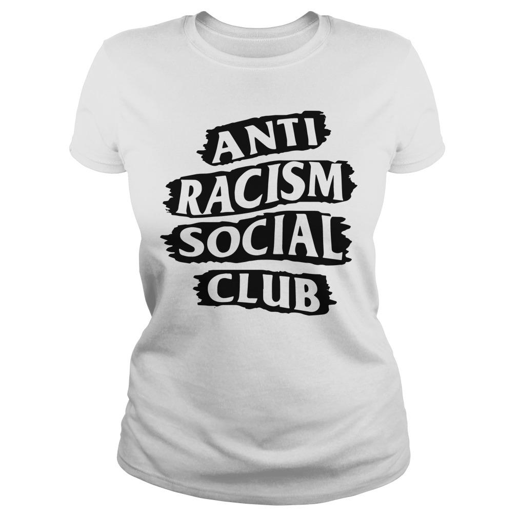 Anti Racism Social Club Ladies Tee