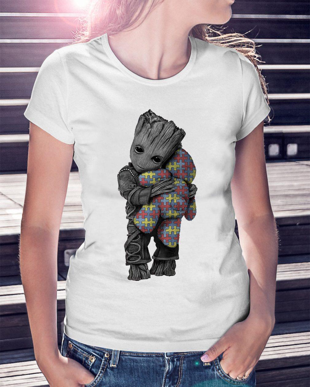 Autism Groot Hug Tedd Shirt