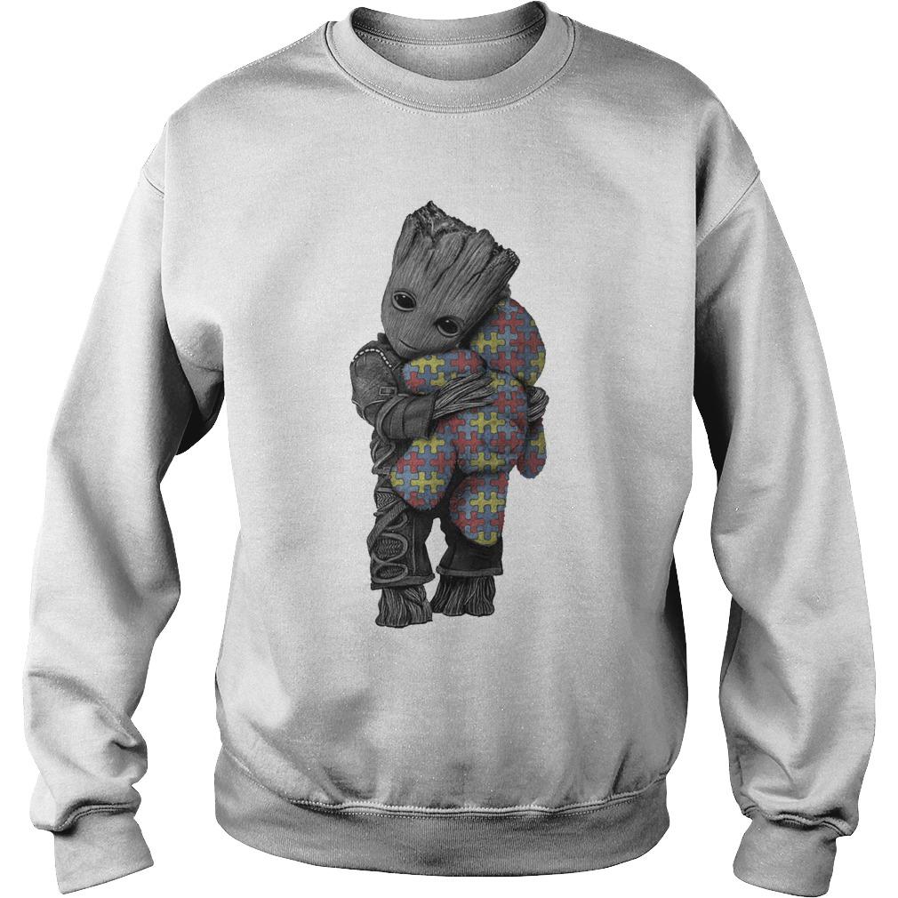 Autism Groot Hug Tedd Sweater