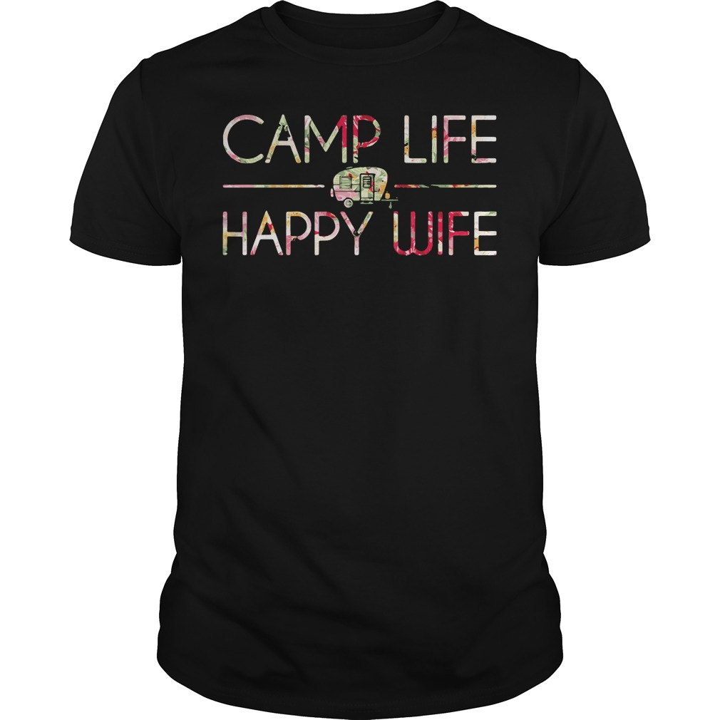 Came Life Happy Wife Guys Shirt