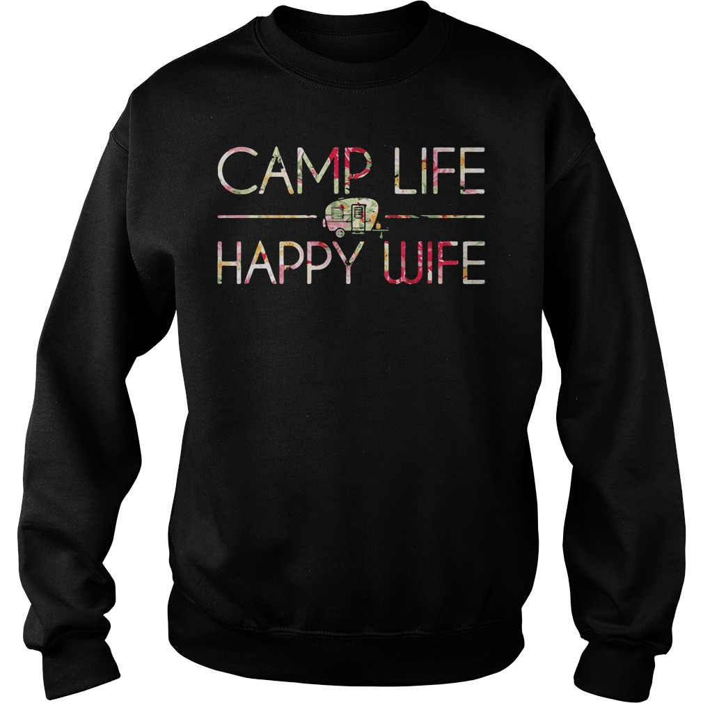 Came Life Happy Wife Sweater