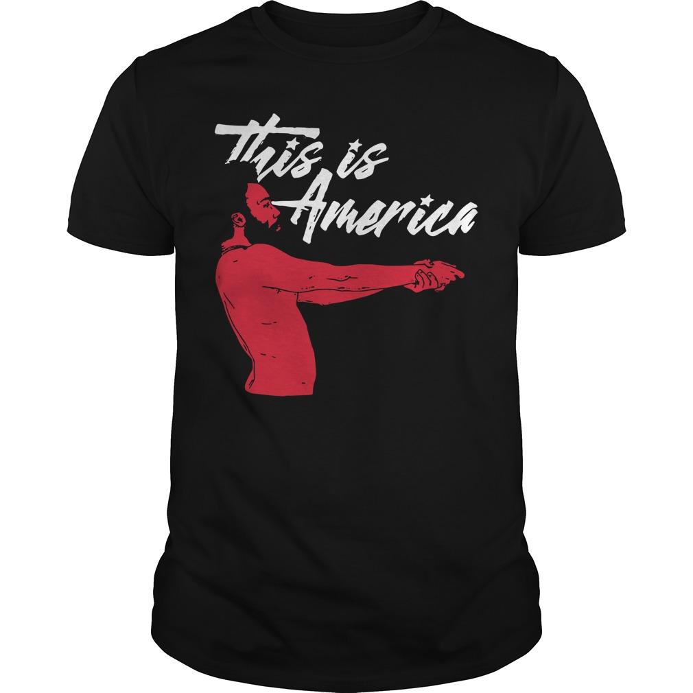Childish Gambino this is America Guys Shirt
