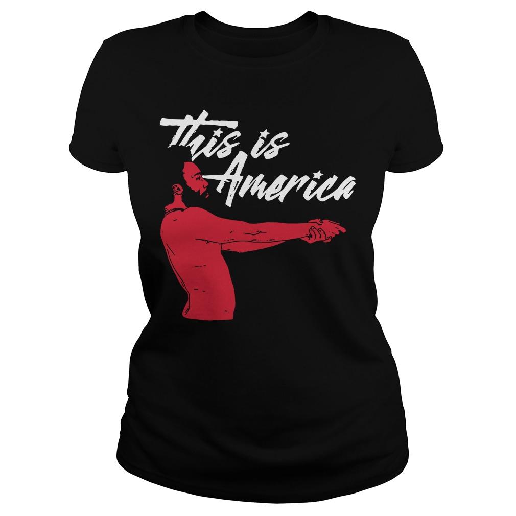 Childish Gambino this is America Ladies Tee