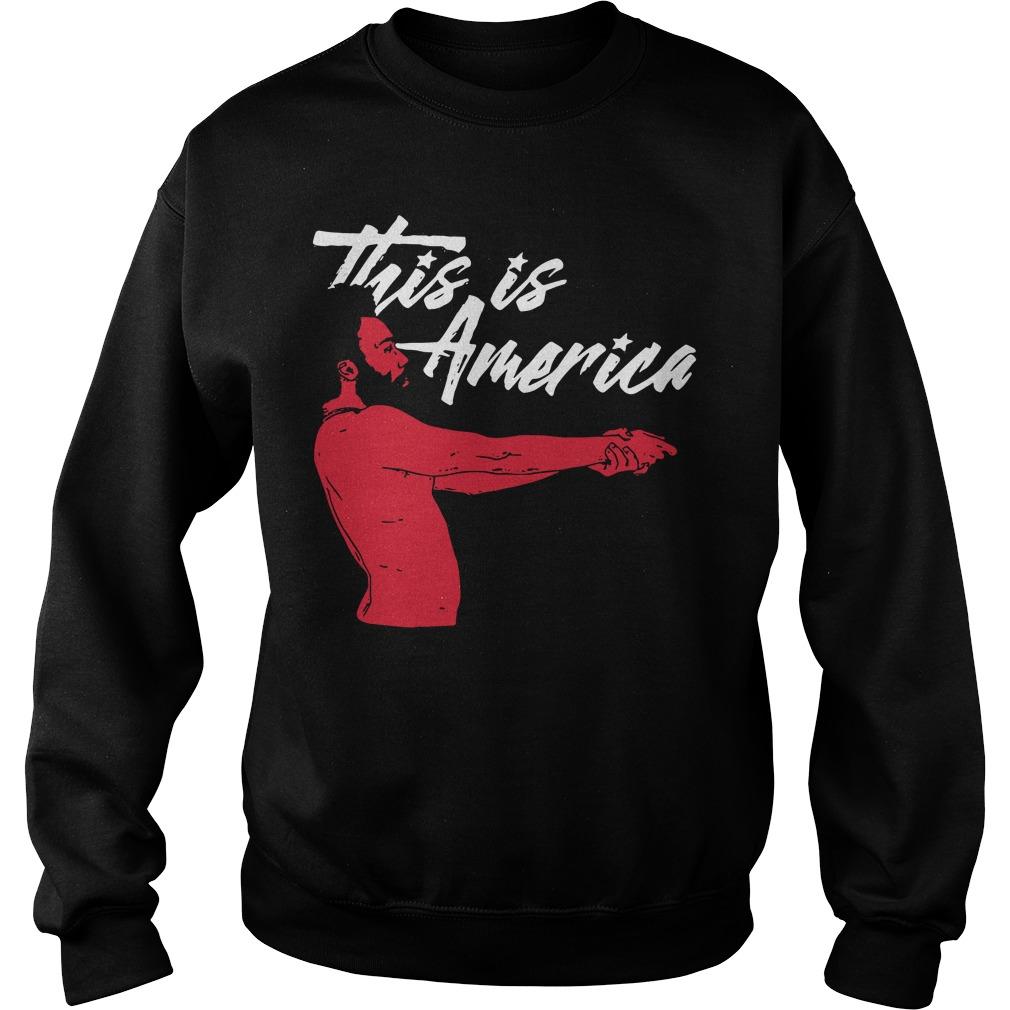 Childish Gambino this is America Sweater