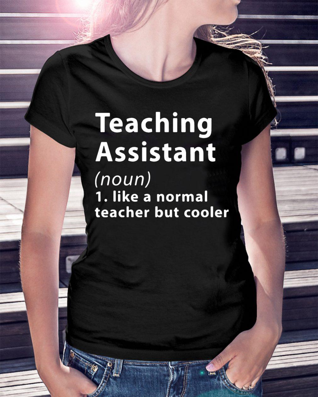 Definition Teaching Assistant Noun Shirt