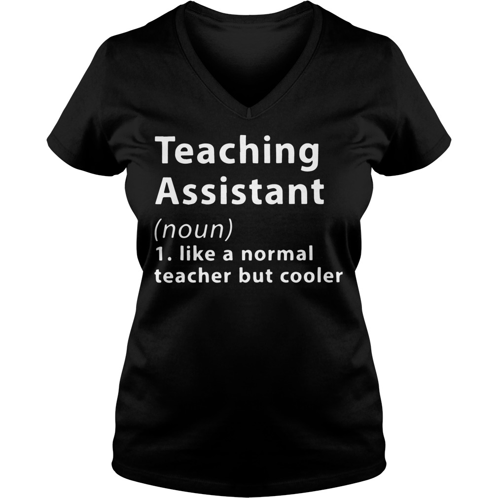 Definition Teaching Noun V Neck T Shirt
