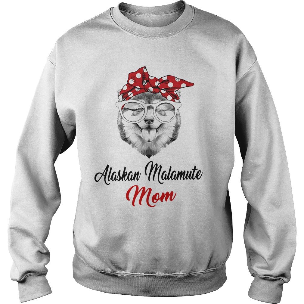 Dog Mom Alaskan Malamute Mom Sweater