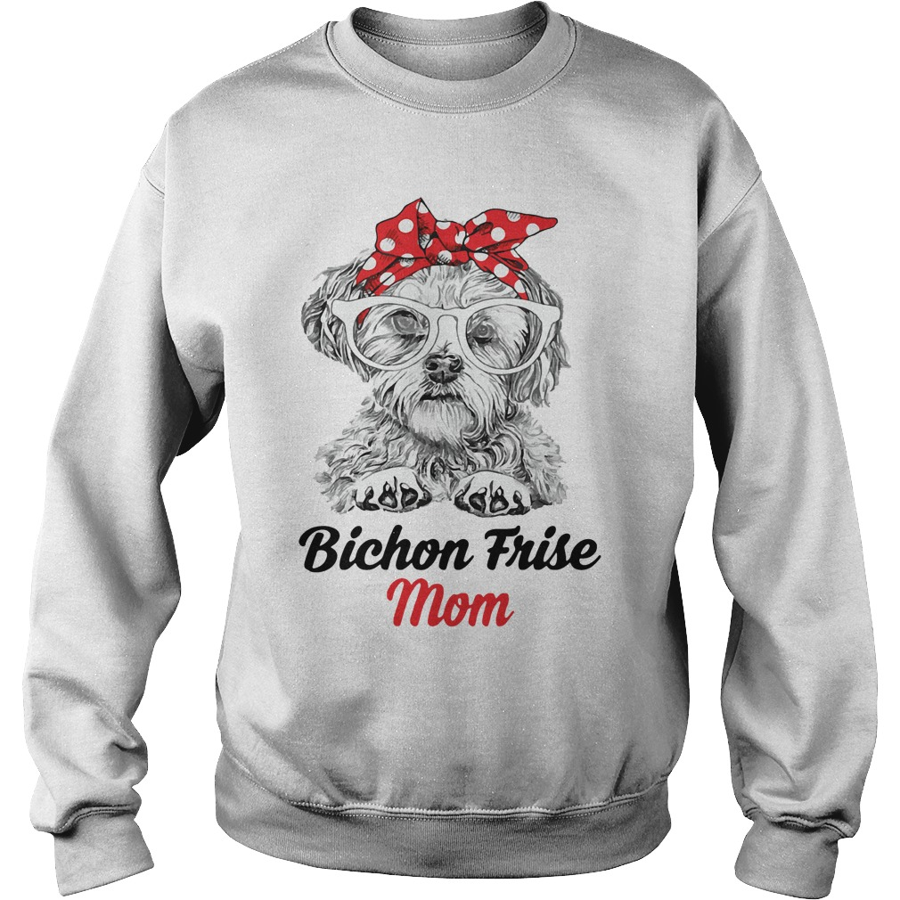 Dog Mom Bichon Frise Mom Sweater