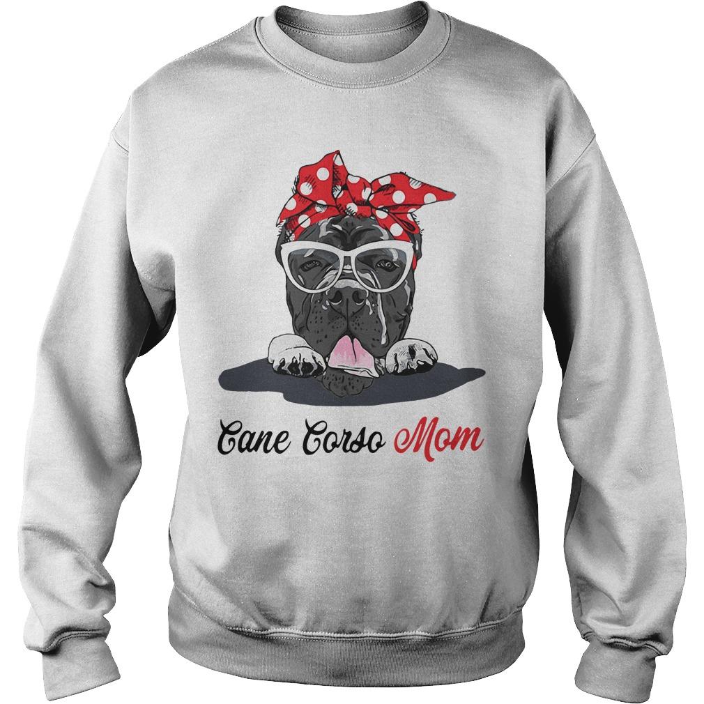 Dog Mom Cane Corso Mom Sweater