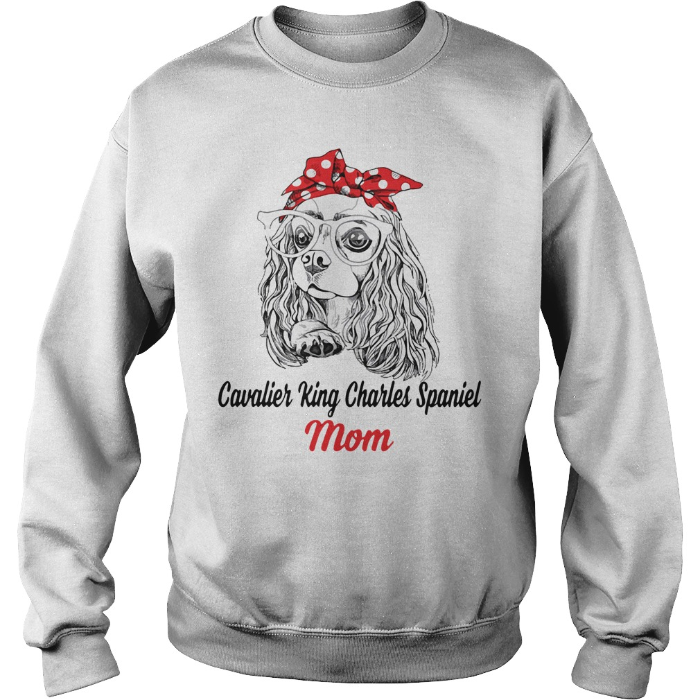 Dog Mom Cavalier King Charles Spaniel Mom Sweater