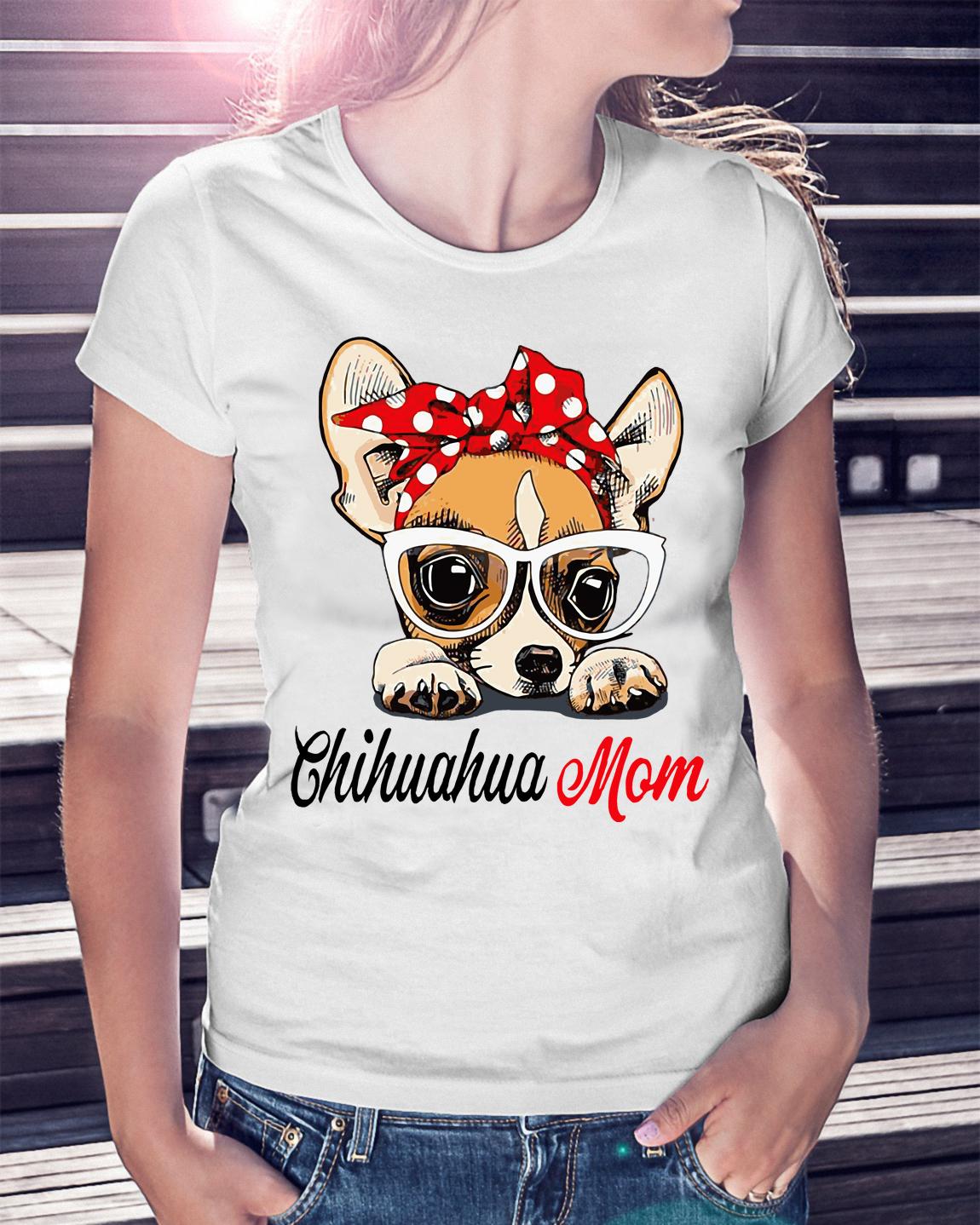2bcd1a645 Dog mom: Chihuahua mom bow head scarf shirt, hoodie, sweater