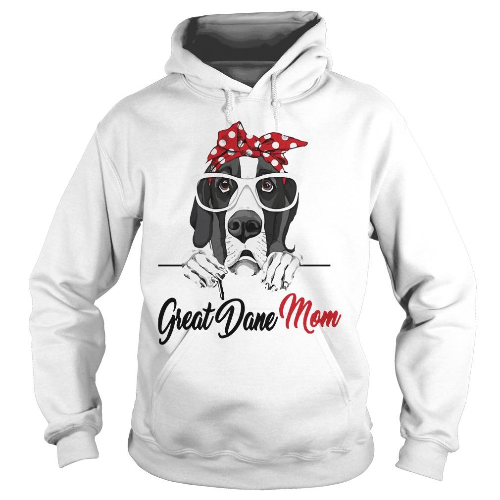 Dog Mom Great Dane Mom Hoodie