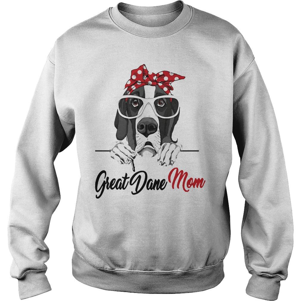 Dog Mom Great Dane Mom Sweater