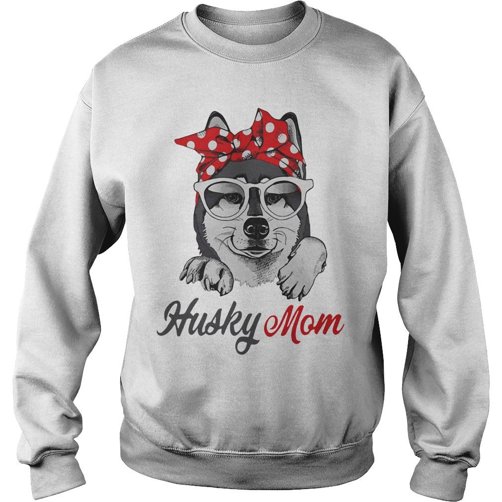 Dog Mom Husky Mom Sweater