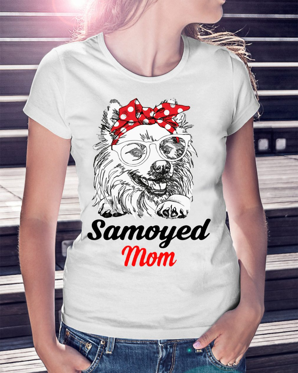 Dog Mom Samoyed Mom Shirt