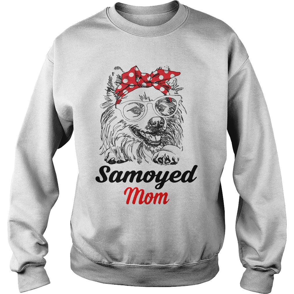 Dog Mom Samoyed Mom Sweater