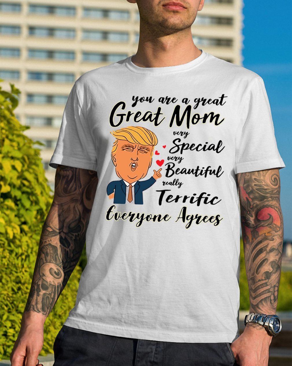 Donald Trump Great Mom Special Beautiful Shirt