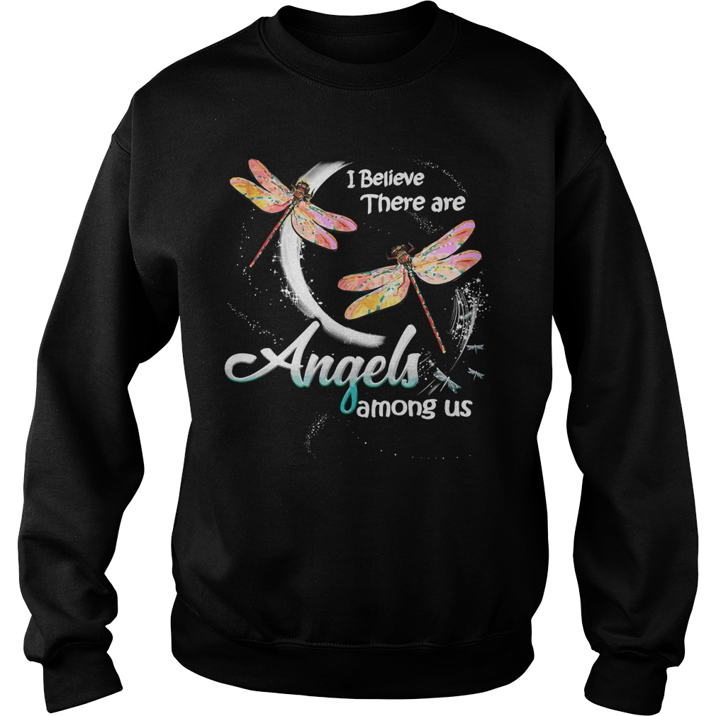 Dragonfly Believe Angels Among Us Sweater