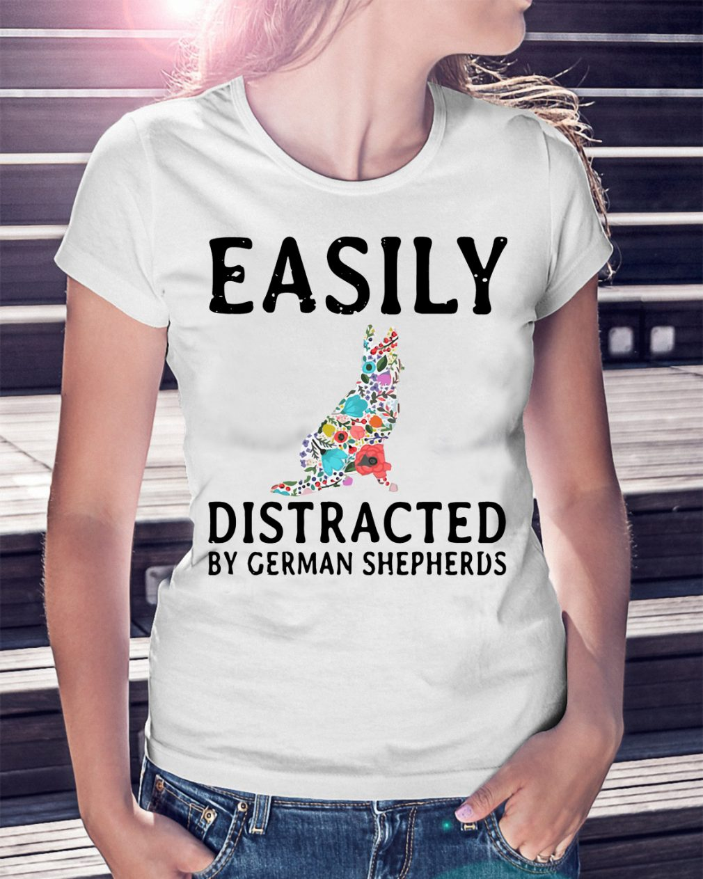 Easily Distracted German Shepherds Shirt