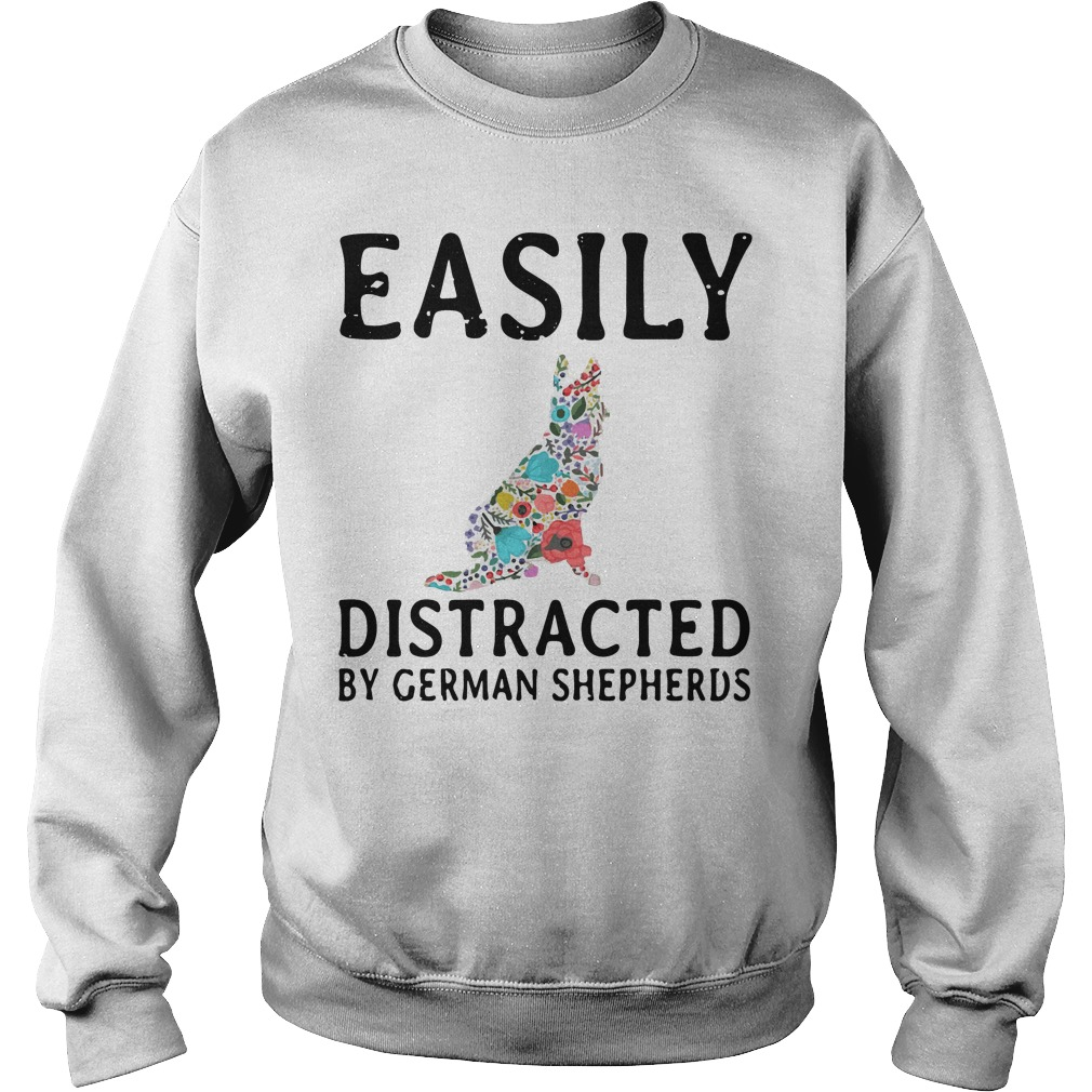 Easily Distracted German Shepherds Sweater