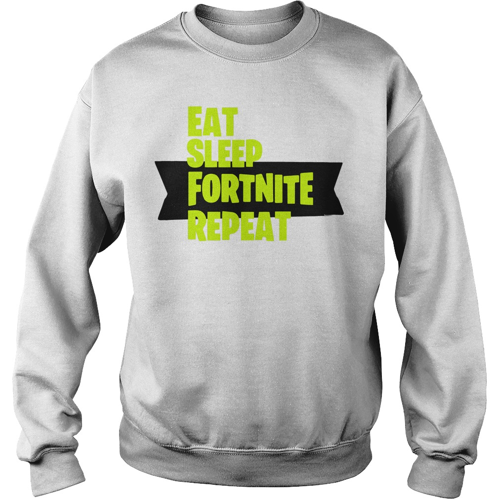 Eat Sleep Fortnite Repeat Sweater