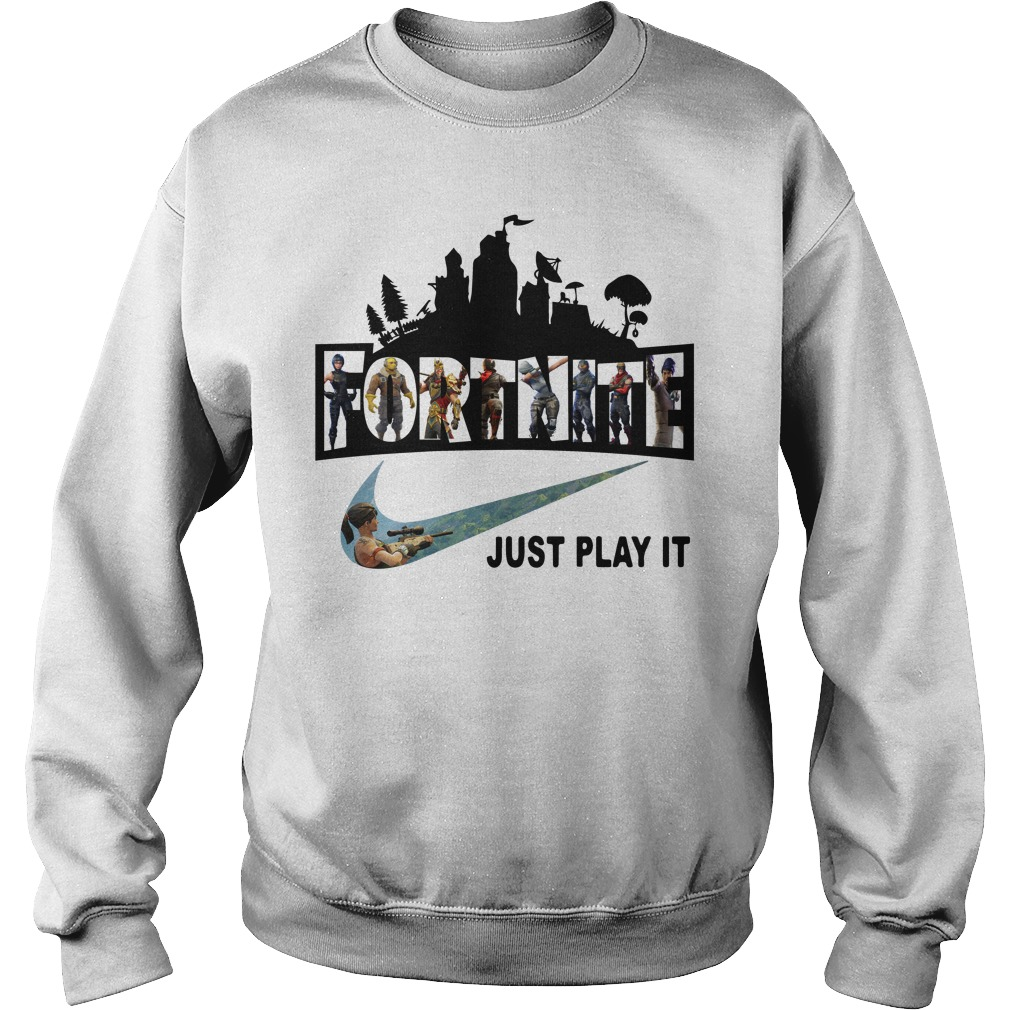 Fortnite Battle Royale And Nike It Just Play It Sweater