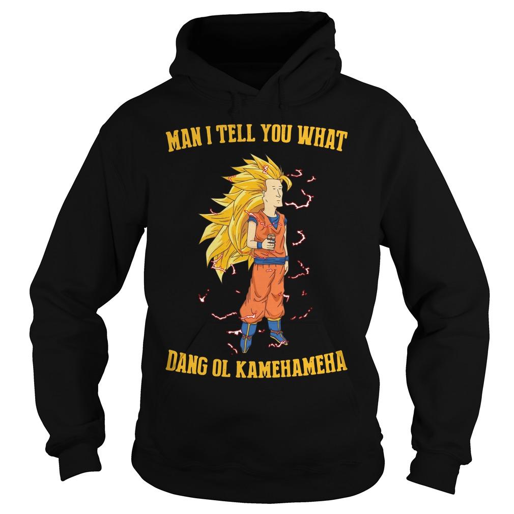 Goku Man Tell Dang Ol Kamehameha Hoodie