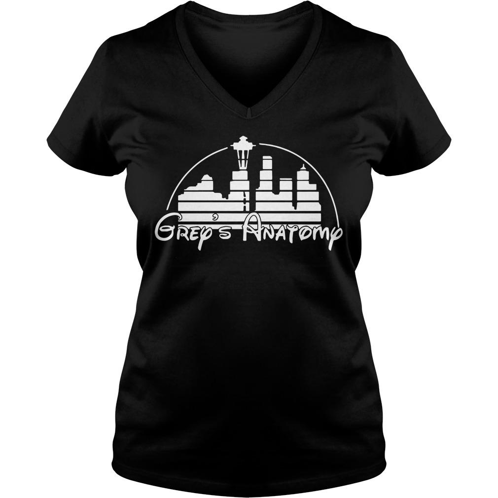 Grey's Anatomy Disney V-neck T-shirt