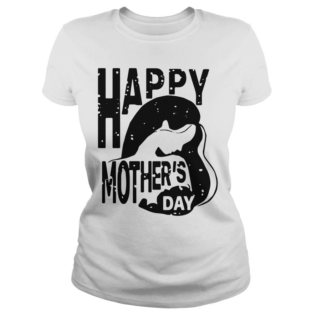 Happy Mothers Day Ladies Tee