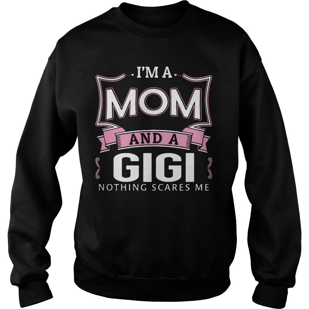 Im Mom Gigi Nothing Scares Sweater