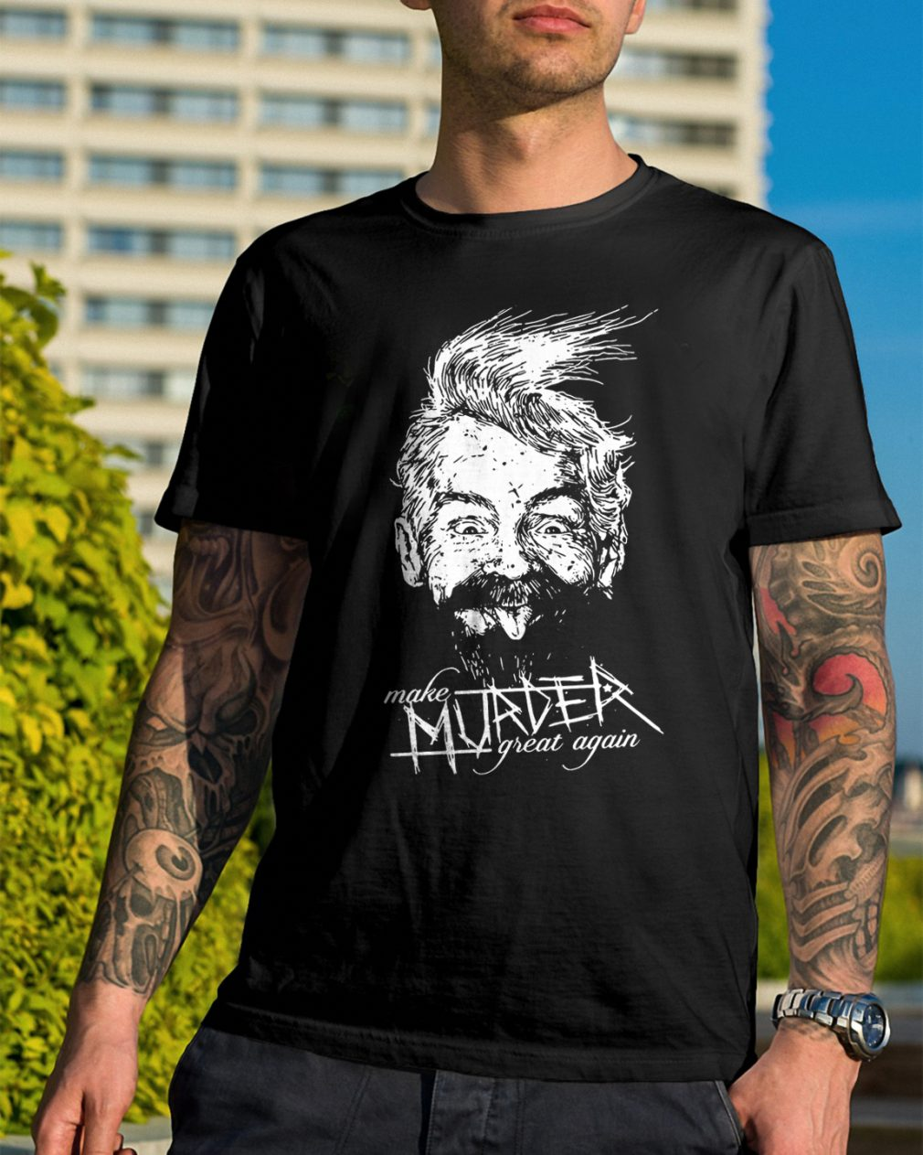 Ink Poisoning Make Murder Great Shirt