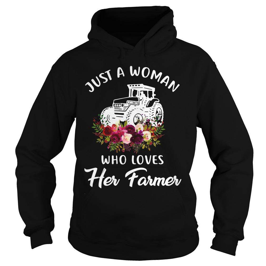 Just Woman Loves Farmer Hoodie
