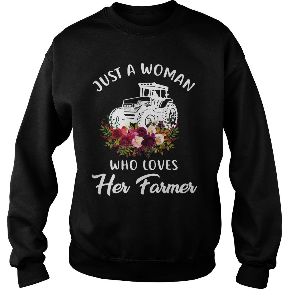 Just Woman Loves Farmer Sweater