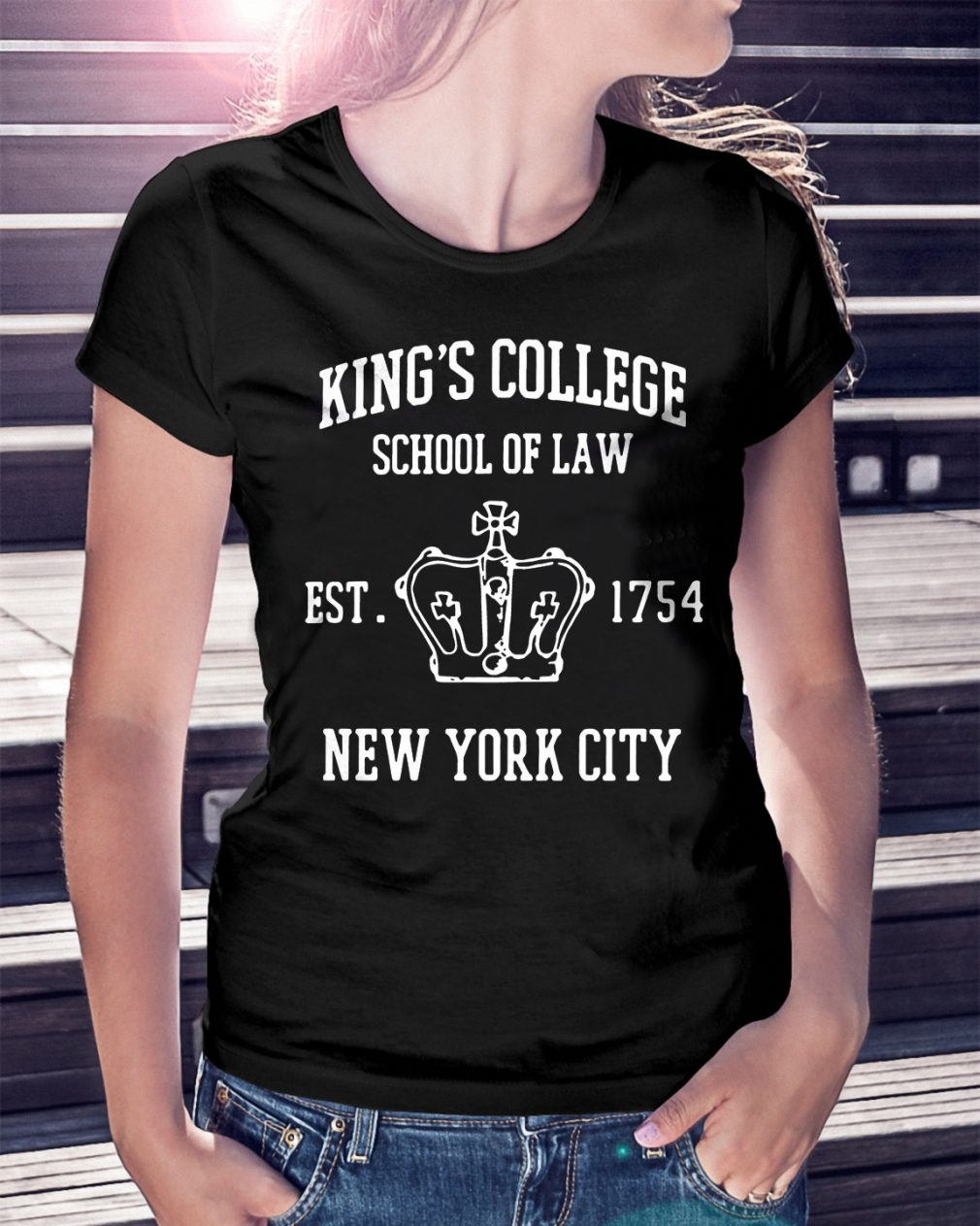 Kings College School Law Est 1754 New York City Shirt