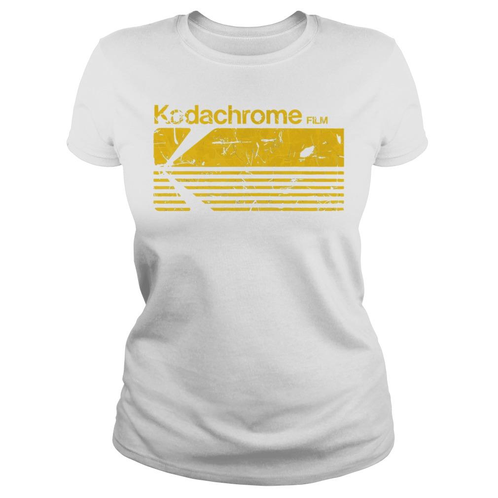 Kodak Kodachrome Film Ladies Tee