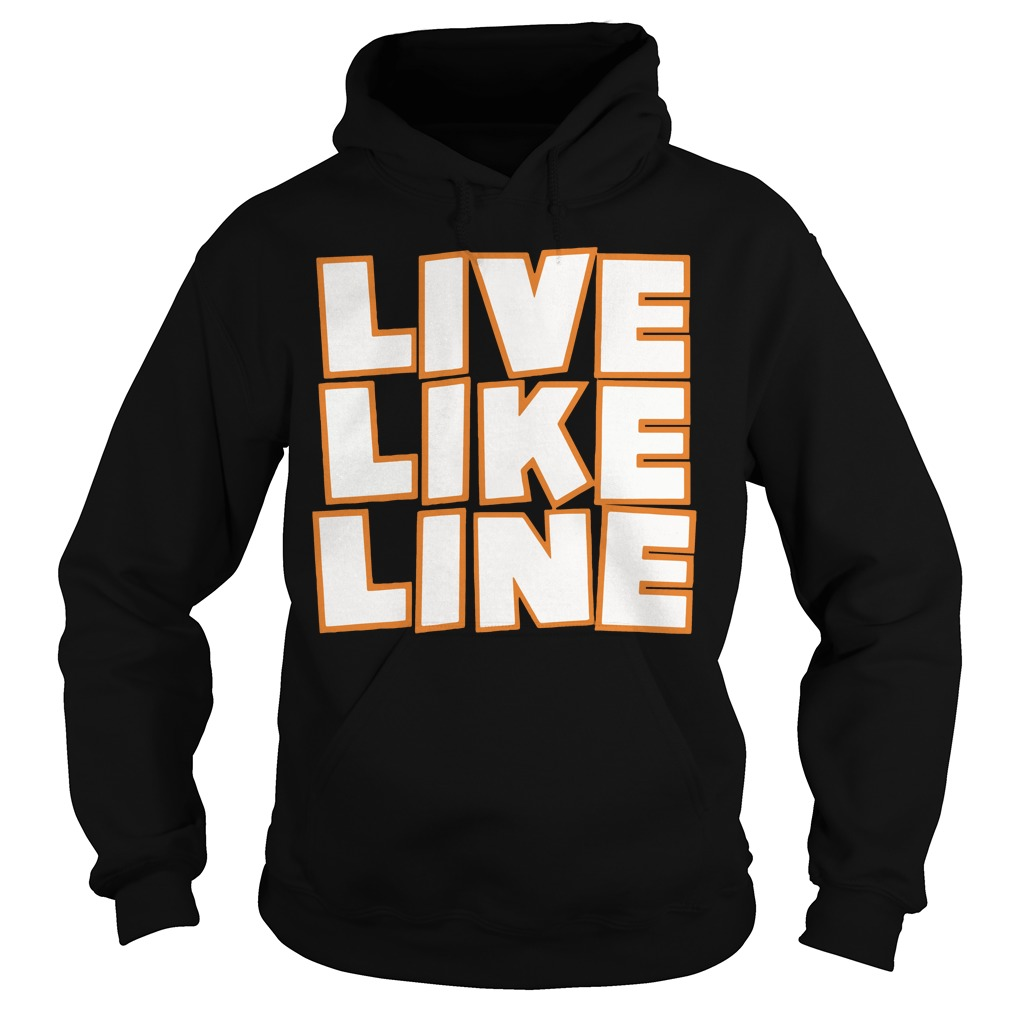 Live Like Line Volleyball Hoodie