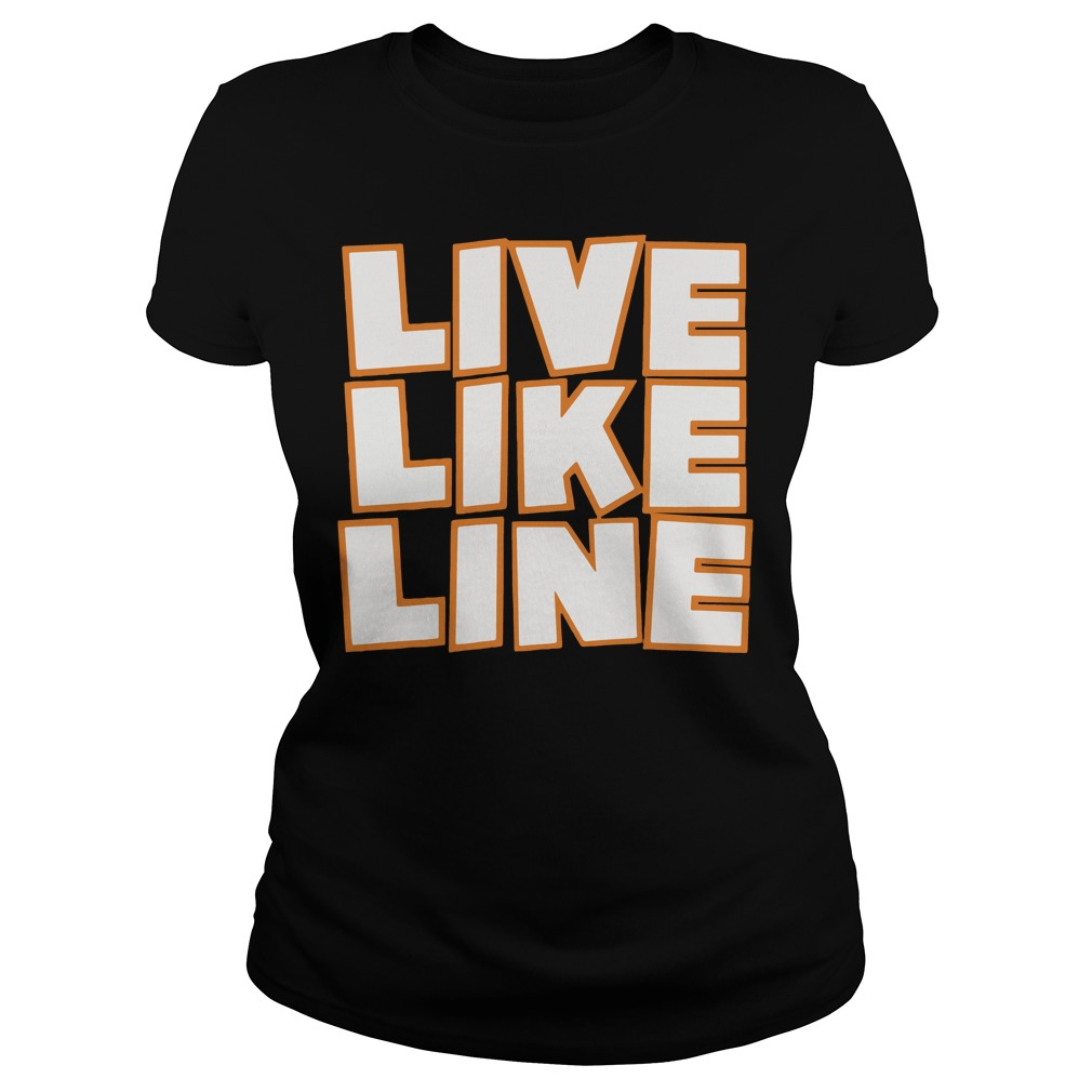 Live Like Line Volleyball Ladies Tee