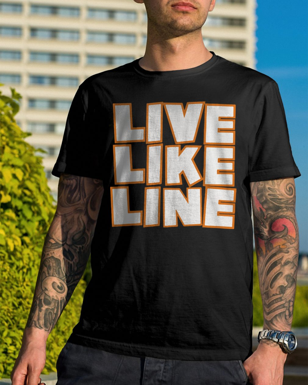 Live Like Line Volleyball Shirt